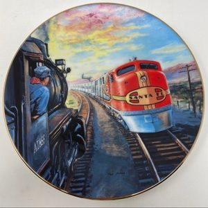 Hamilton Collection The Santa Fe Super Chief Plate